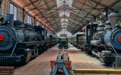 Museo del Ferrocarril de Guatemala en 1991