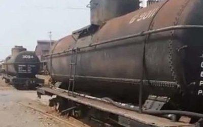 Tanques del antiguo ferrocarril serán usados para hospital